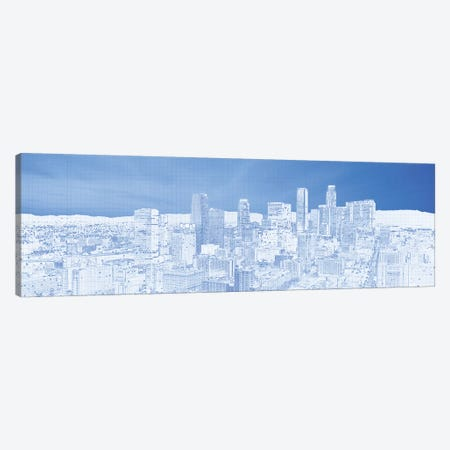 City Of Los Angeles, Los Angeles County, California, USA Canvas Print #PIM14348} by Panoramic Images Canvas Wall Art