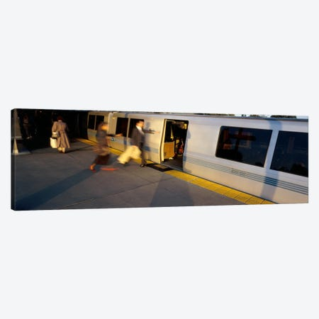 Bay Area Rapid Transit, Oakland, California, USA Canvas Print #PIM1434} by Panoramic Images Canvas Print