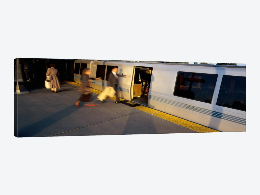 Bay Area Rapid Transit, Oakland, California, USA by Panoramic Images 1-piece Canvas Artwork