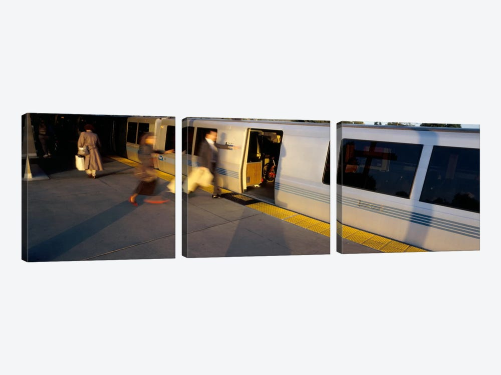 Bay Area Rapid Transit, Oakland, California, USA by Panoramic Images 3-piece Canvas Art
