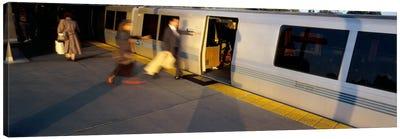 Bay Area Rapid Transit, Oakland, California, USA Canvas Art Print
