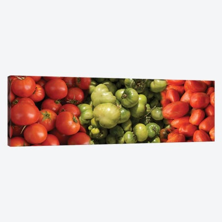 Close-Up Of Assorted Tomatoes Canvas Print #PIM14378} by Panoramic Images Art Print
