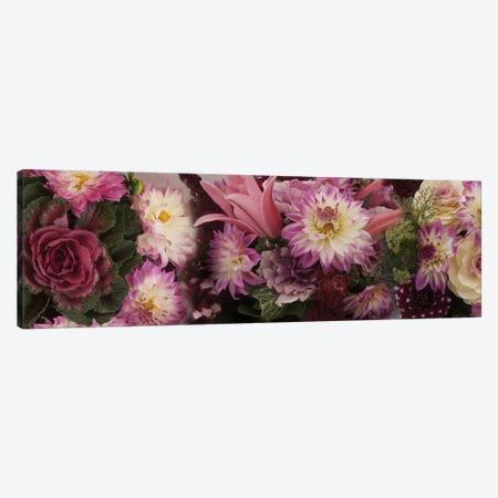 Close-Up Of Flowers In A Bouquet Canvas Print #PIM14431} by Panoramic Images Canvas Artwork