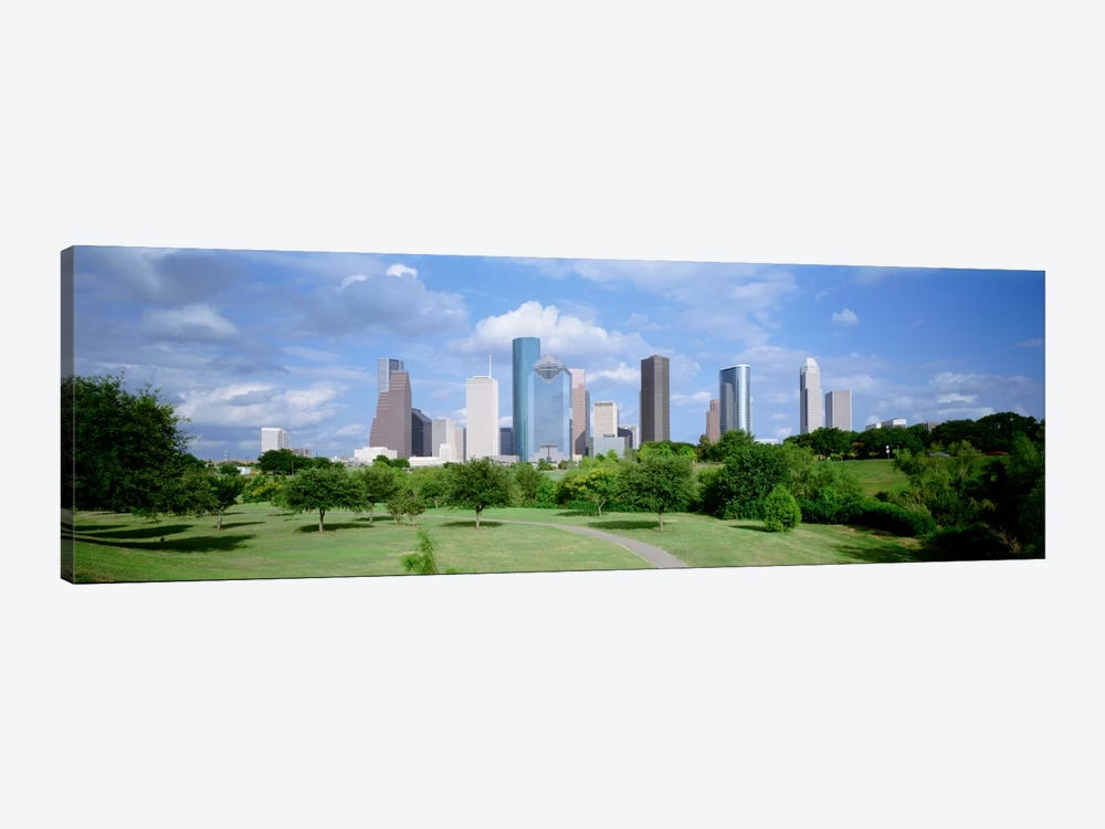 Cityscape, Houston, TX by Panoramic Images 1-piece Canvas Art