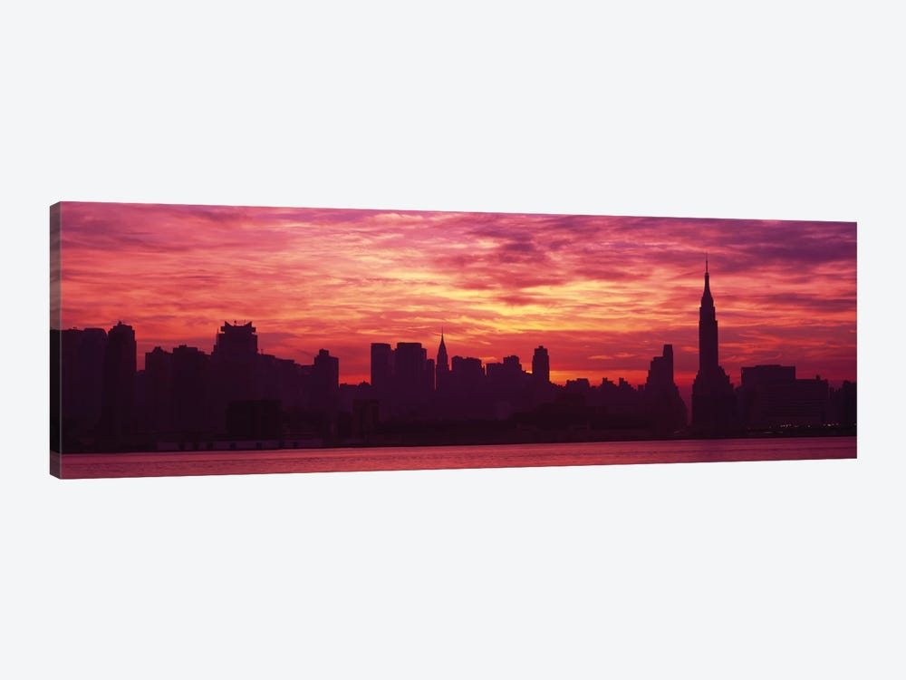 Hudson River New YorkNYC, New York City, New York State, USA by Panoramic Images 1-piece Canvas Print