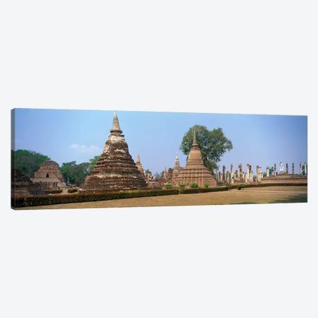 Sukhothai Historical Park Thailand Canvas Print #PIM1452} by Panoramic Images Canvas Wall Art