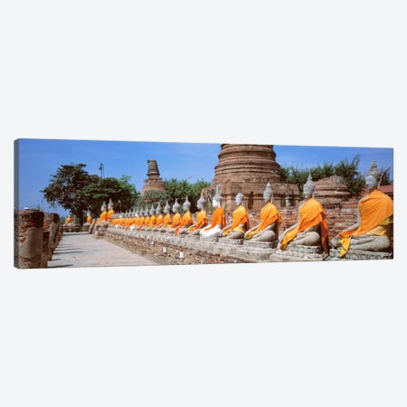 Ayutthaya Thailand Canvas Print #PIM1453} by Panoramic Images Canvas Wall Art