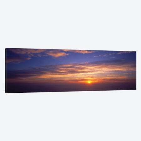 Clouds In The Sky At Sunset, California, USA Canvas Print #PIM14569} by Panoramic Images Canvas Wall Art