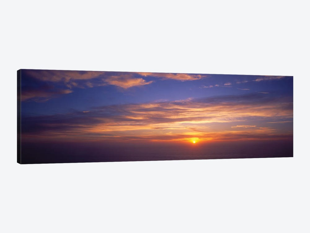 Clouds In The Sky At Sunset, California, USA by Panoramic Images 1-piece Art Print