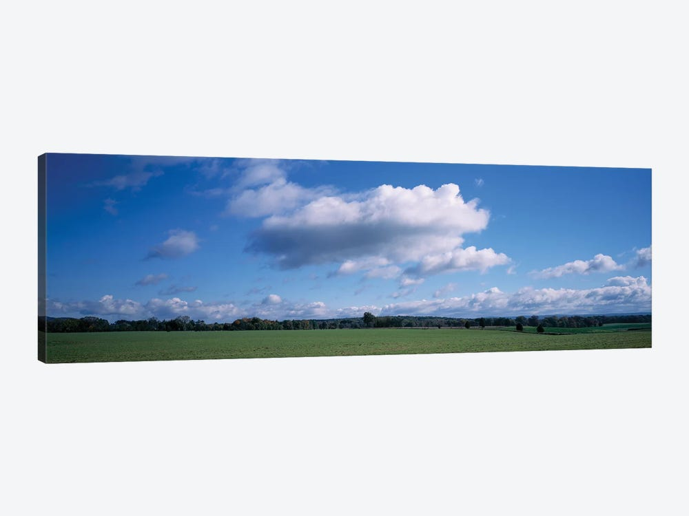 Clouds Over A Field, Upstate New York, USA by Panoramic Images 1-piece Canvas Wall Art