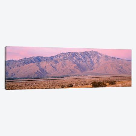 Clouds Over Mountains, San Jacinto Peak, San Jacinto Range, Palm Springs, California, USA Canvas Print #PIM14574} by Panoramic Images Canvas Artwork