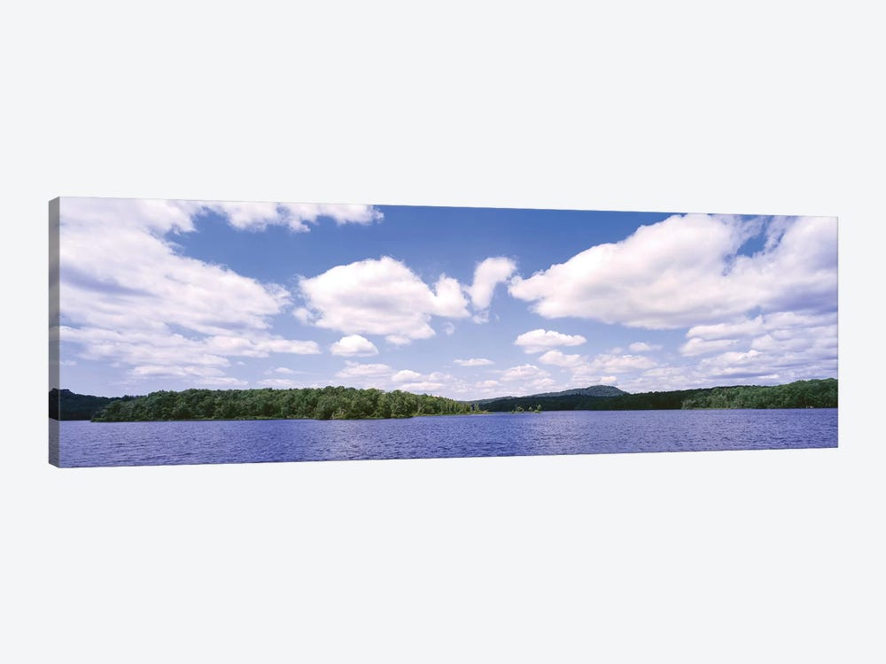 Clouds Over Oswegatchie River, Adirondack Mountains, Wanakena, New York State, USA 1-piece Canvas Wall Art