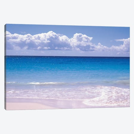 Clouds Over Sea, Caribbean Sea, Vieques, Puerto Rico Canvas Print #PIM14576} by Panoramic Images Canvas Wall Art