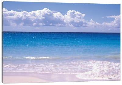 Clouds Over Sea, Caribbean Sea, Vieques, Puerto Rico Canvas Art Print