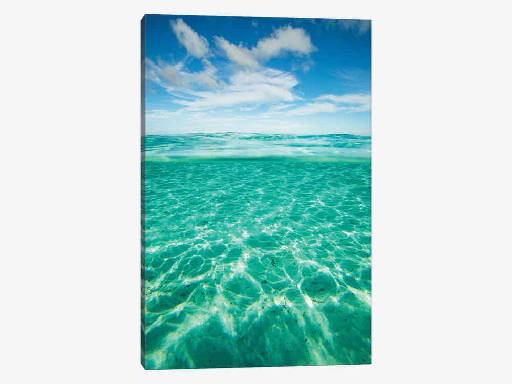 Clouds Over The Pacific Ocean, Bora Bora, Society Islands, French Polynesia IV by Panoramic Images 1-piece Canvas Art Print