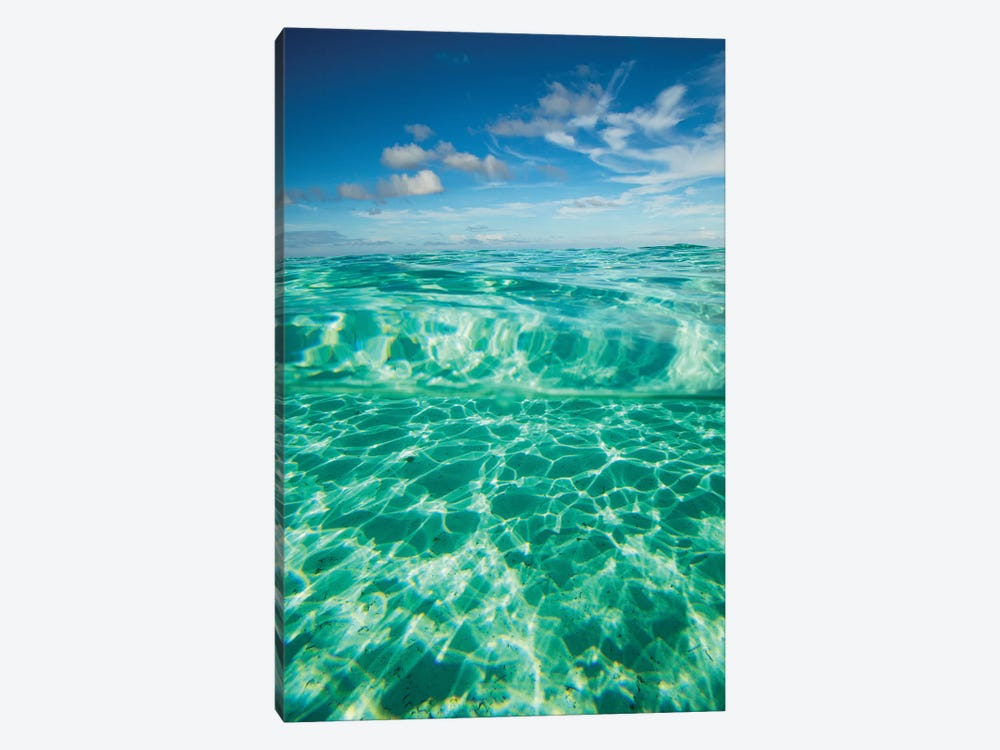 Clouds Over The Pacific Ocean, Bora Bora, Society Islands, French Polynesia VII by Panoramic Images 1-piece Canvas Art