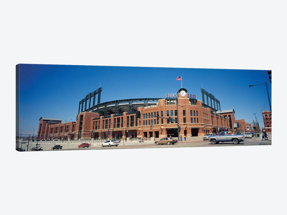 Coors Field, Denver, Colorado, USA, 1995 by Panoramic Images 1-piece Canvas Art
