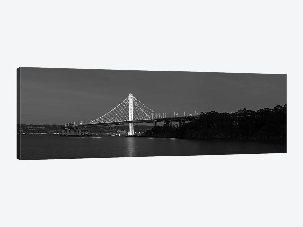 Eastern Span Replacement Of The San Francisco–Oakland Bay Bridge, California, USA by Panoramic Images 1-piece Canvas Wall Art