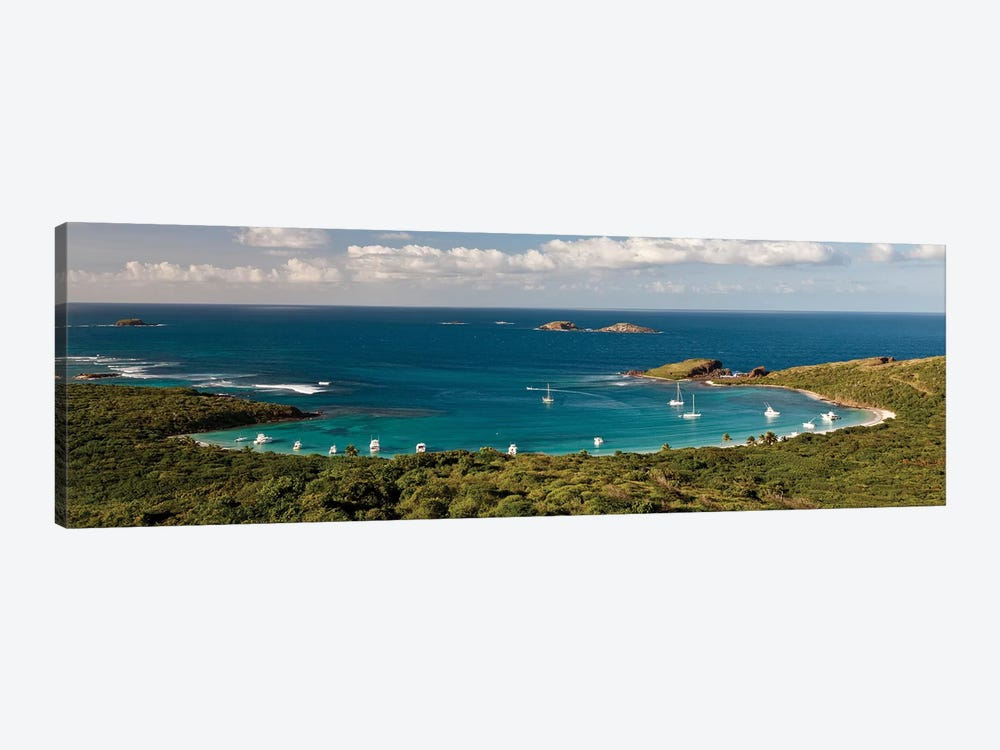 Elevated View Of Beach, Culebra Island, Puerto Rico II by Panoramic Images 1-piece Canvas Artwork