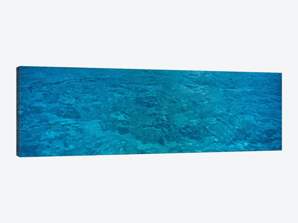 Elevated View Of Rippled Water In Caribbean Sea by Panoramic Images 1-piece Art Print