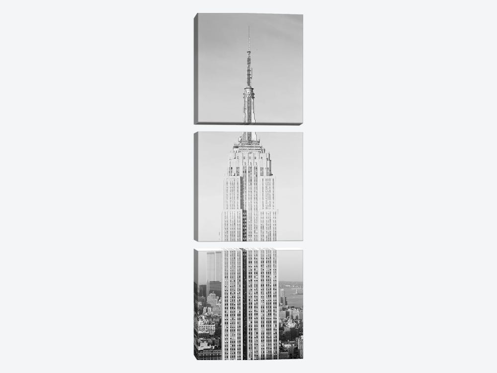 Empire State Building, NYC I by Panoramic Images 3-piece Canvas Art