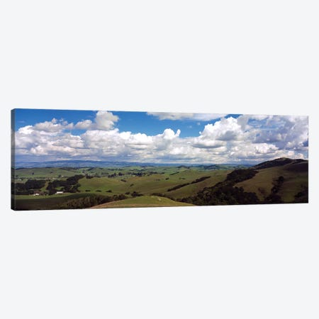 Fields & Meadows Northern California, USA Canvas Print #PIM14657} by Panoramic Images Canvas Art Print