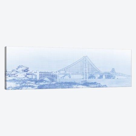 Golden Gate Bridge, San Francisco, San Francisco County, California, USA Canvas Print #PIM14668} by Panoramic Images Canvas Print