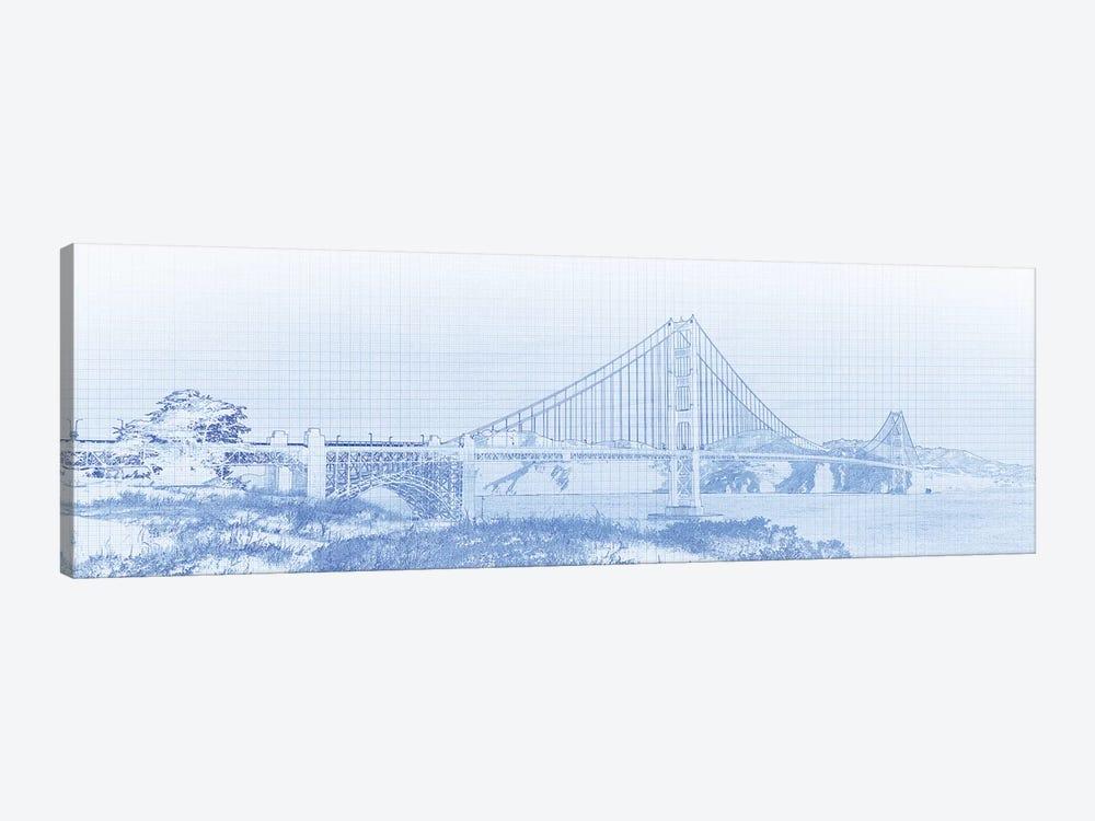 Golden Gate Bridge, San Francisco, San Francisco County, California, USA by Panoramic Images 1-piece Canvas Wall Art