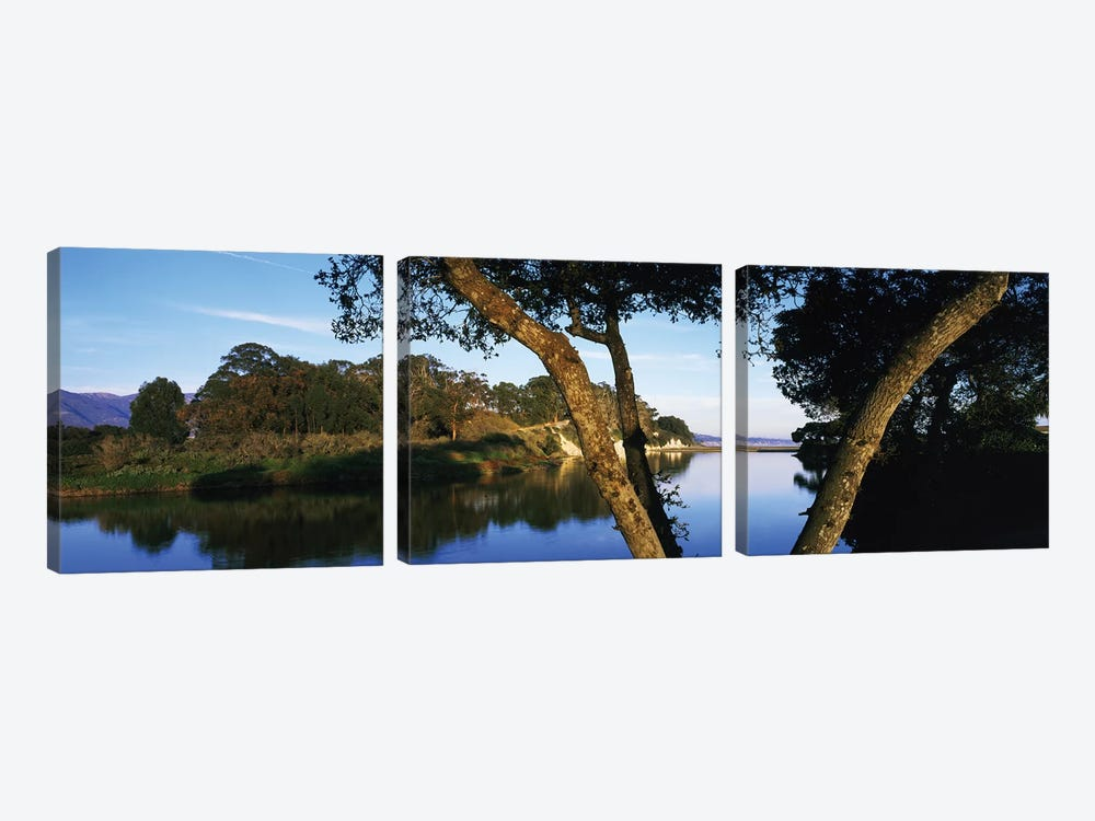 Goleta Slough Wetlands, Goleta, California, USA by Panoramic Images 3-piece Canvas Artwork