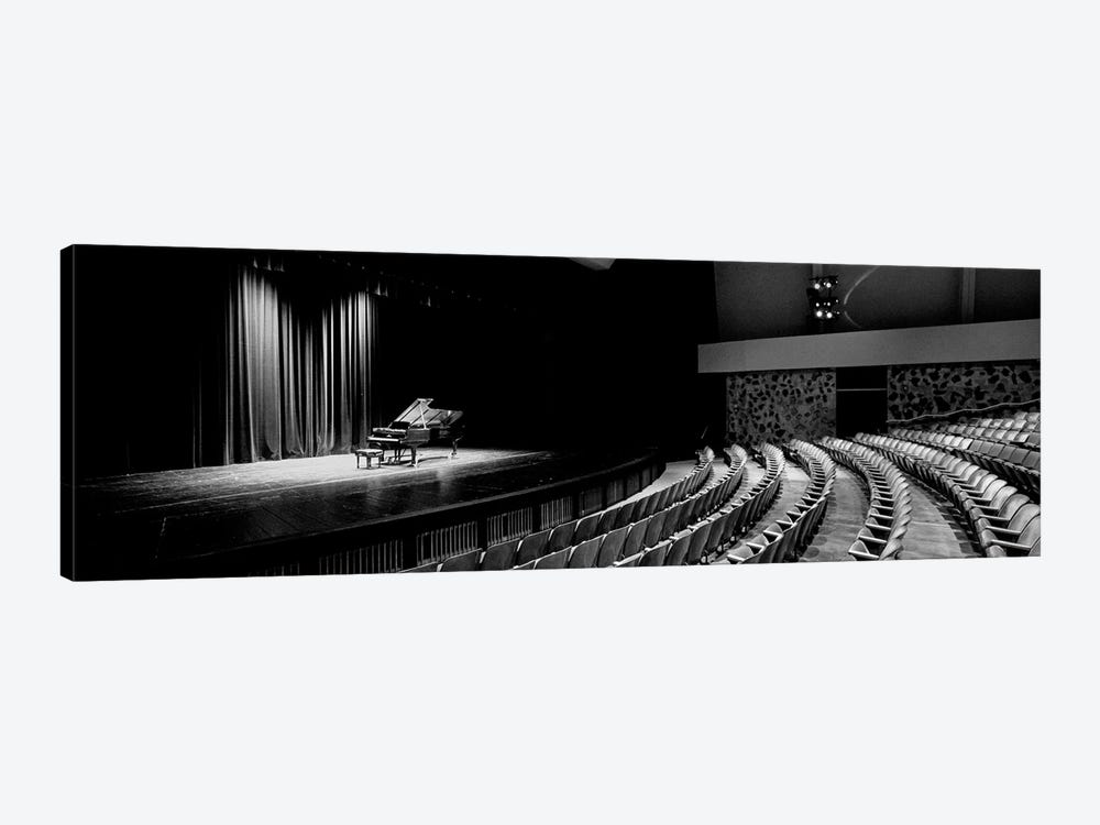 Grand Piano On A Concert Hall Stage, University Of Hawaii, Hilo, Hawaii, USA I by Panoramic Images 1-piece Canvas Art Print
