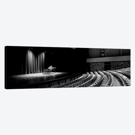 Grand Piano On A Concert Hall Stage, University Of Hawaii, Hilo, Hawaii, USA I Canvas Print #PIM14672} by Panoramic Images Canvas Wall Art