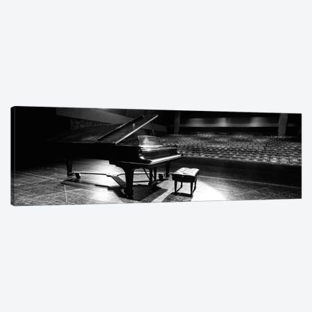 Grand Piano On A Concert Hall Stage, University Of Hawaii, Hilo, Hawaii, USA II Canvas Print #PIM14673} by Panoramic Images Canvas Wall Art