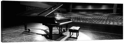 Grand Piano On A Concert Hall Stage, University Of Hawaii, Hilo, Hawaii, USA II Canvas Art Print