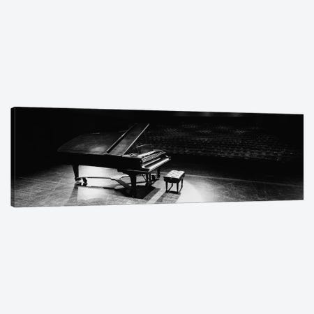 Grand Piano On A Concert Hall Stage, University Of Hawaii, Hilo, Hawaii, USA III Canvas Print #PIM14674} by Panoramic Images Art Print