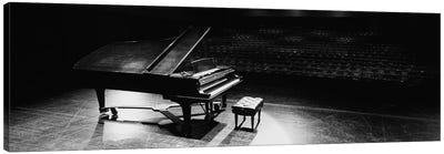 Grand Piano On A Concert Hall Stage, University Of Hawaii, Hilo, Hawaii, USA III Canvas Art Print