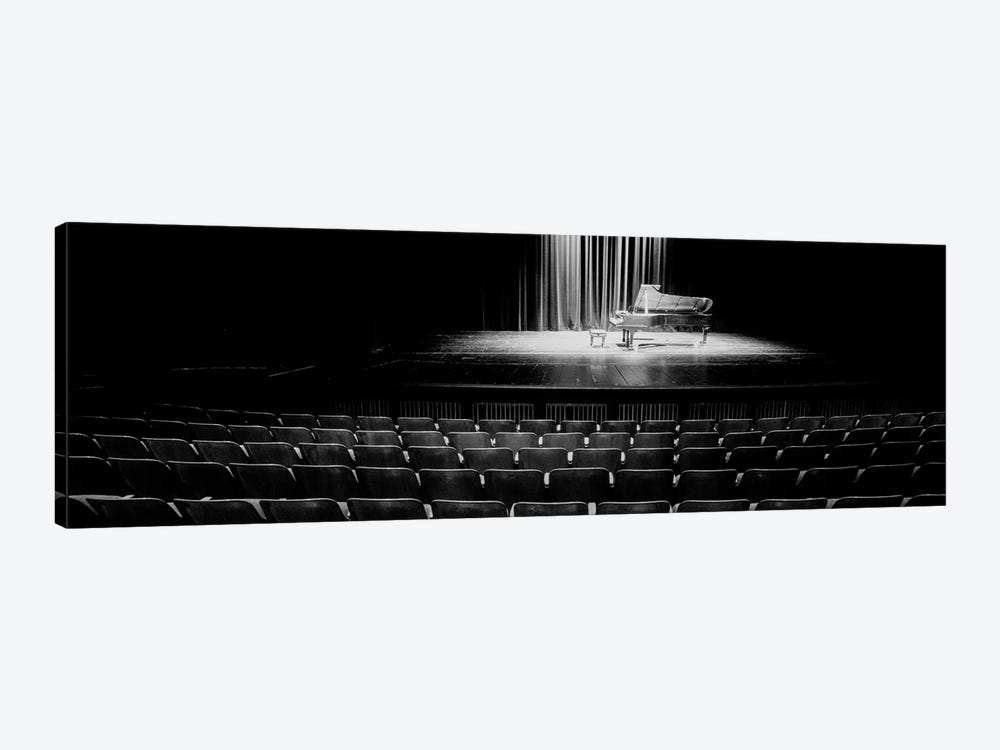 Grand Piano On A Concert Hall Stage, University Of Hawaii, Hilo, Hawaii, USA IV by Panoramic Images 1-piece Canvas Artwork