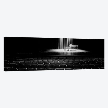 Grand Piano On A Concert Hall Stage, University Of Hawaii, Hilo, Hawaii, USA IV Canvas Print #PIM14675} by Panoramic Images Canvas Art Print