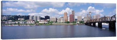 USAOregon, Portland, Willamette River Canvas Print #PIM1468