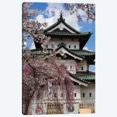 Hirosaki Castle, Hirosaki Park, Hirosaki, Aomori Prefecture, Japan Canvas Print #PIM14690} by Panoramic Images Canvas Art