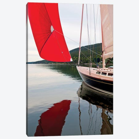Hope M52 Yacht At Sea, Rhode Island, USA Canvas Print #PIM14693} by Panoramic Images Canvas Artwork