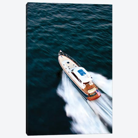 Hunt 52 Yacht At Sea, Newport, Rhode Island, USA II Canvas Print #PIM14699} by Panoramic Images Canvas Wall Art
