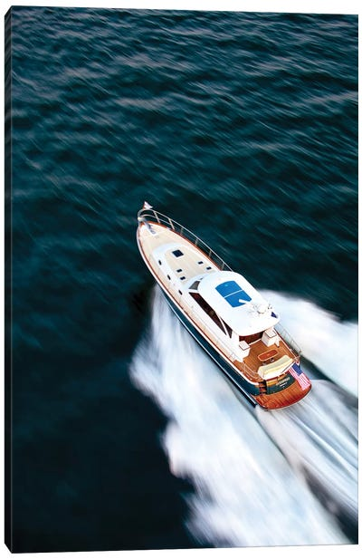 Hunt 52 Yacht At Sea, Newport, Rhode Island, USA II Canvas Art Print
