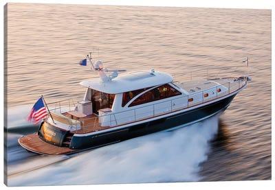 Hunt 52 Yacht At Sea, Newport, Rhode Island, USA IV Canvas Art Print