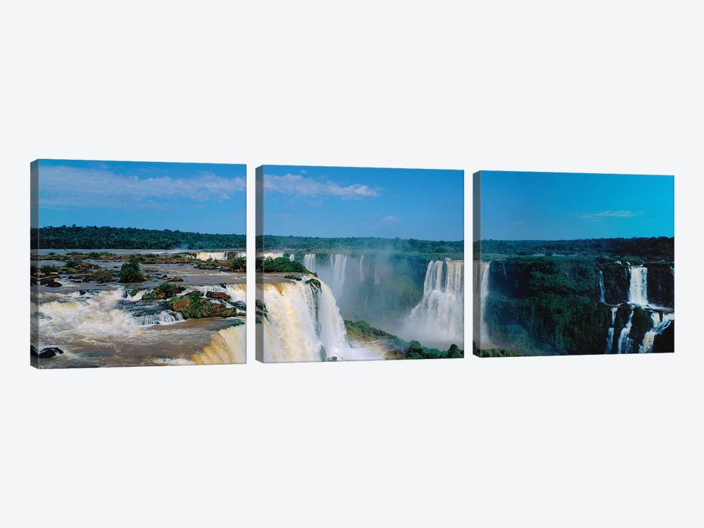 Iguazu Falls National Park Argentina by Panoramic Images 3-piece Canvas Art Print