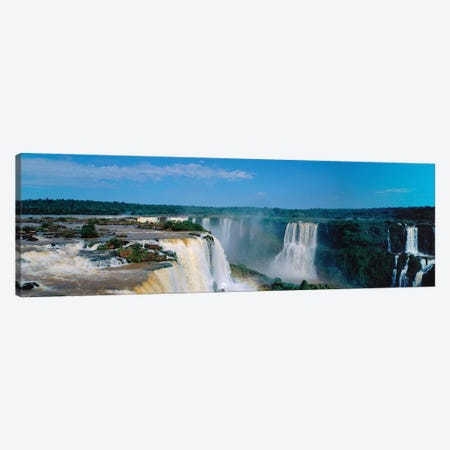 Iguazu Falls National Park Argentina Canvas Print #PIM14702} by Panoramic Images Canvas Artwork