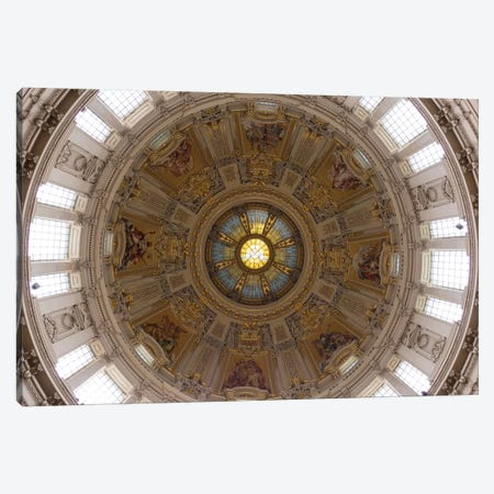 Interior Of Dome Of Berlin Cathedral, Berlin, Germany Canvas Print #PIM14704} by Panoramic Images Canvas Art Print
