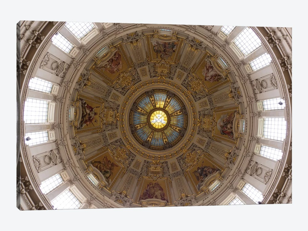 Interior Of Dome Of Berlin Cathedral, Berlin, Germany by Panoramic Images 1-piece Canvas Print
