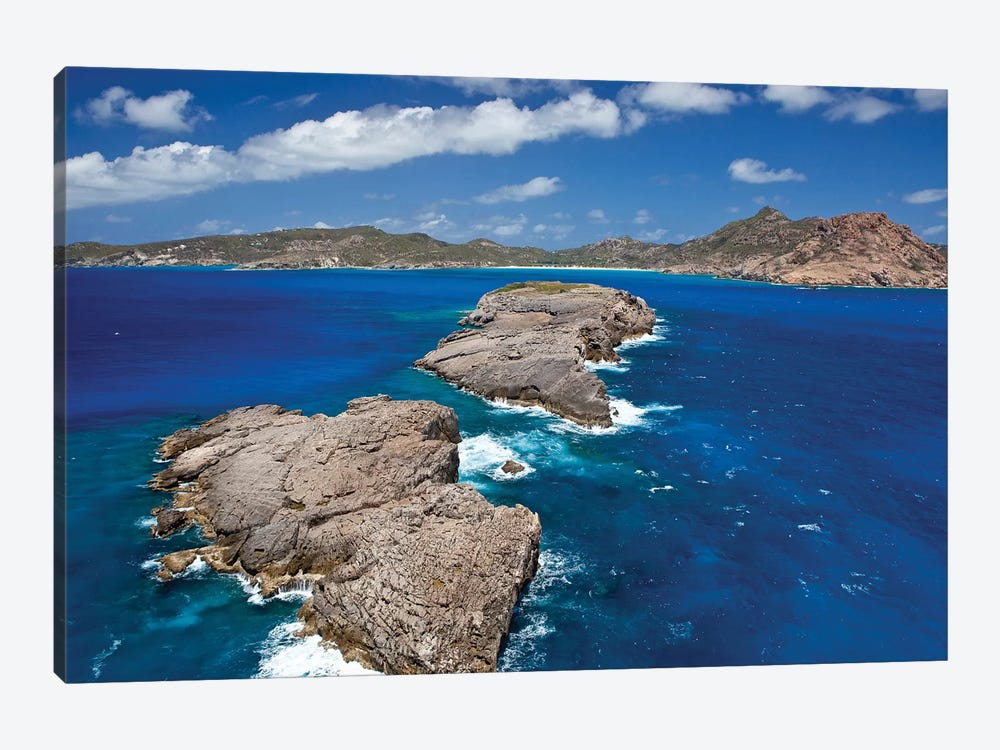 Islands At Saint Barthélemy, Caribbean Sea by Panoramic Images 1-piece Canvas Print