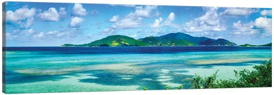 Islands In The Sea, Leinster Bay, U.S. Virgin Islands Canvas Art Print