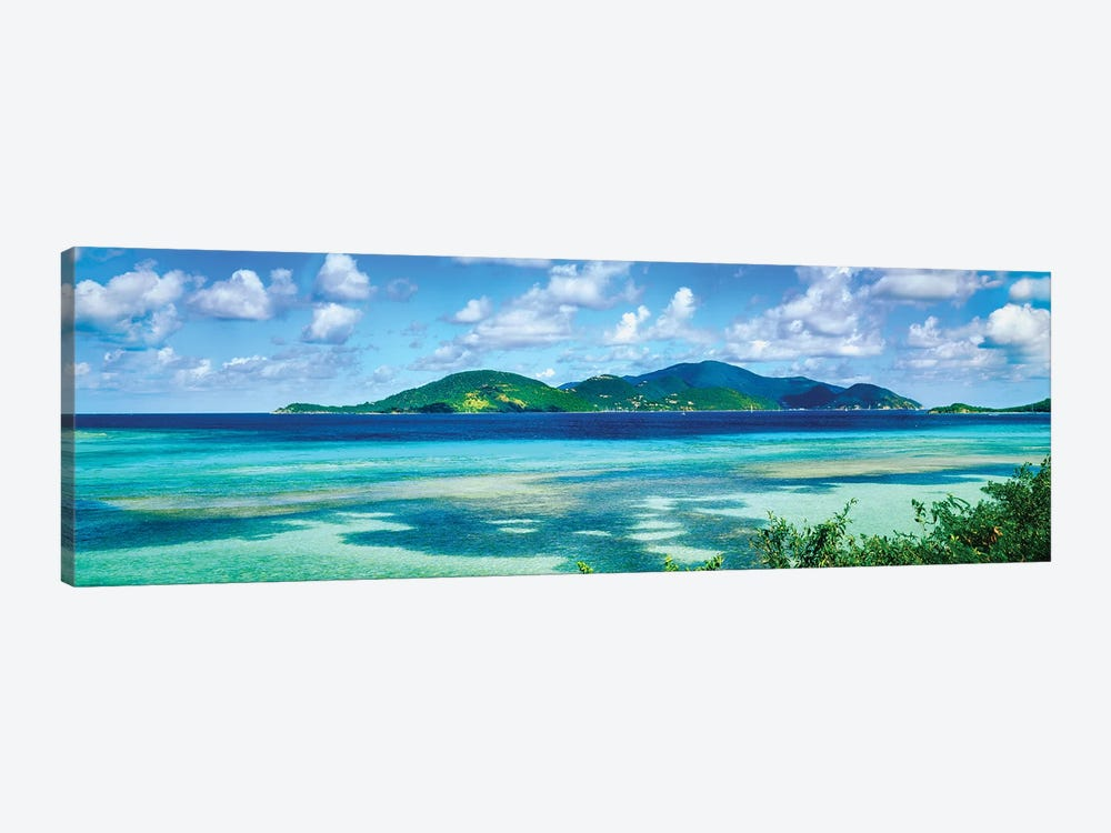 Islands In The Sea, Leinster Bay, U.S. Virgin Islands by Panoramic Images 1-piece Canvas Wall Art